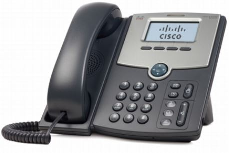 Cisco SPA512G 1-Line IP Phone with 2-Port Gigabit Ethernet Switch, PoE, and LCD Display