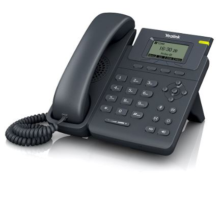 Yealink Single Line IP Phone 132x64 LCD, PoE/HDV
