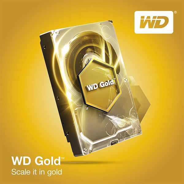 "WD 10TB Gold DATACENTER 3.5"" SATA 256MB 24x7 7200RPM 6Gb/s Top of the line."