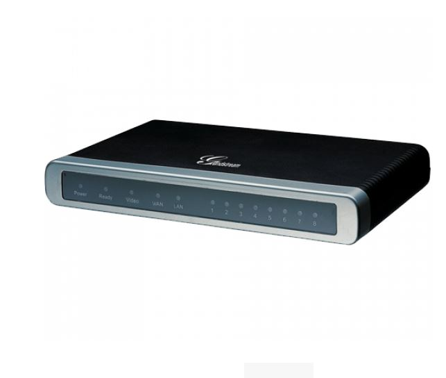 Grandstream GXW4104 4 FXO Port VoIP gateway with dual 10/100