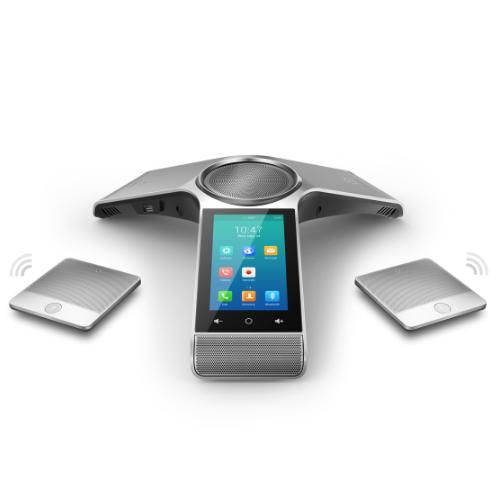 Yealink Optima HD IP Conference Phone, Optima HD Voice, Full Duplex, W/O PSU - Set of 2 Mics