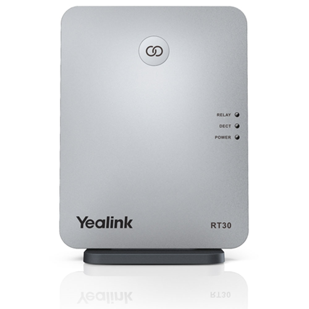 Yealink RT30 DECT Phone Repeater. Up to 6 repeaters per base station, cascade up to 2 repeaters, compatible with W60B