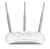 TP-Link TL-WA901ND N450 Wireless N Access Point 2.4GHz (450Mbps) 1x100Mbps LAN 802.11bgn 3*5dBi Detachable Omni Directional Passive PoE WPS button