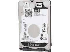 "WD Black 500GB SATA3 7mm 2.5"" 7200RPM 6Gb/s 32MB Cache"