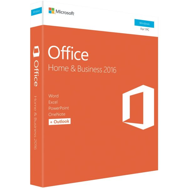 Microsoft Office Home & Business 2016 (32/64-bit) - No DVD Retail Box SP2
