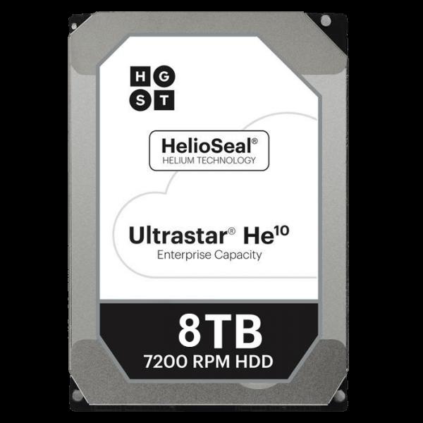 "HGST 3.5"" 8TB 256MB 7200RPM SAS 12GBs 512E ISE, HE10, HUH721008AL5200 - 5yrs Wty - Hitachi"