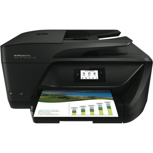 HP OfficeJet 6950 All-in-One Printer Inkjet - Smartphone Connectivity