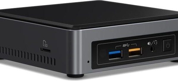 Intel NUC mini PC i3-7100U 2.4GHz 2xDDR4 SODIMM M.2 SATA/PCIe SSD HDMI DP USB-C 3xDisplays GbE LAN Wifi BT 4xUSB3.0 for Digital Signage POS Kiosk