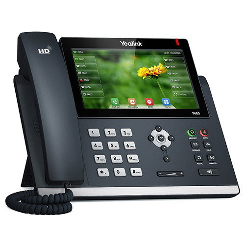 "Yealink T48S 16 Line 7"" Touch LCD IP Phone, 2x GbE, USB"