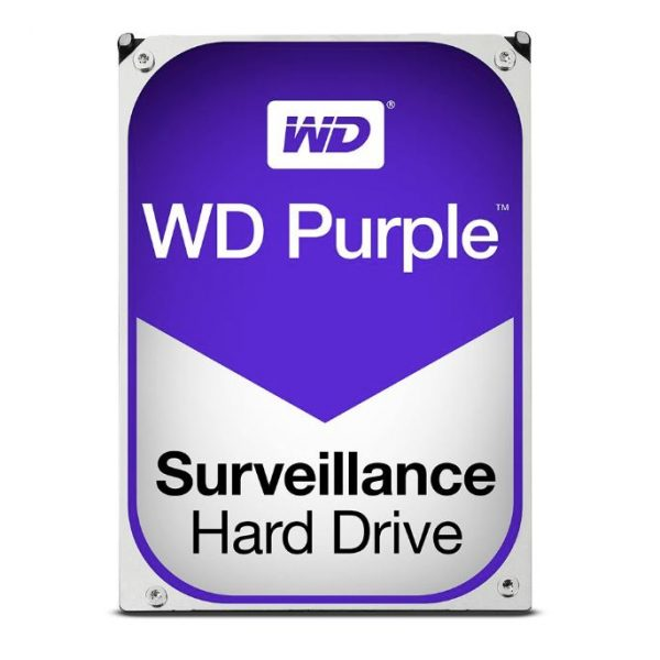 WD Purple 4TB Surveillance 3.5 IntelliPower SATA3 6Gb/s 64MB (WD40PURZ)