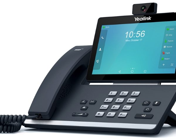 "Yealink T58V 7"" Touch LCD IP Phone, USB 720P Video"