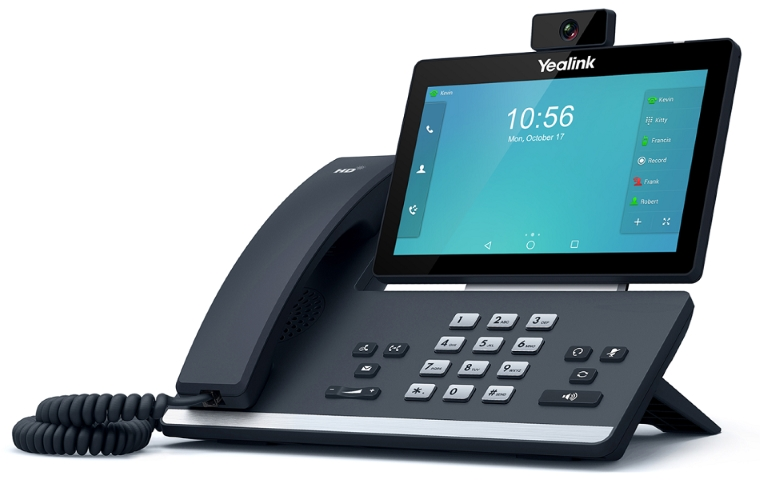 """Yealink T58V 7"""" Touch LCD IP Phone, USB 720P Video"""