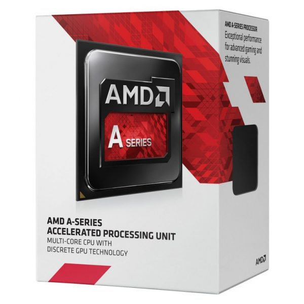 AMD A10-9700 CPU Quad Core AM4, Max 3.8GHz, 2MB Cache, 65W, Integrated Radeon R7 Series APU with Fan