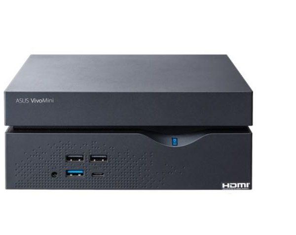 Asus VC66R commercial Mini PC, i5-7400, 8GB (1x 8GB) DDR4, 256GB M.2 SSD, 1x HDMI,1xDVI-D,1xDP, WIN10PRO64, 2yrs Pickup&Return Warranty