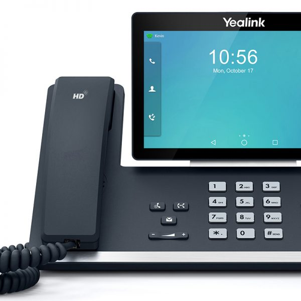"Yealink T58A 16 Line IP HD Android Phone, 7"" 1024 x 600 colour touch screen, HD voice, Dual Gig Ports, Built in Bluetooth and WiFi, USB 2.0 Port,"