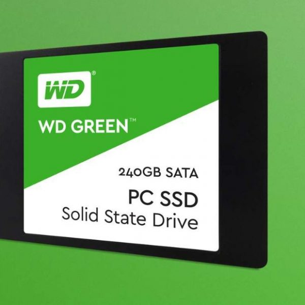 "Western Digital Green 240GB 2.5"" 3D NAND SSD 7MM, 540/430 R/W, SATA 6GB. 3 Years Warranty"