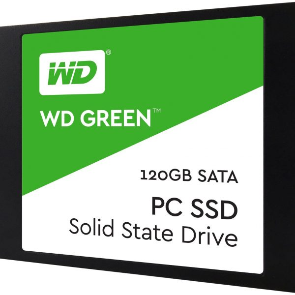 "Western Digital Green 120GB 2.5"" 3D NAND SSD 7MM 540/430 R/W, SATA 6GB. 3 Years Warranty"