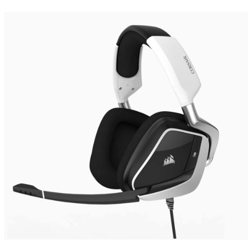 Corsair VOID PRO WHITE RGB Wireless Premium Gaming Headset with Dolby® Headphone 7.1 AUDIO