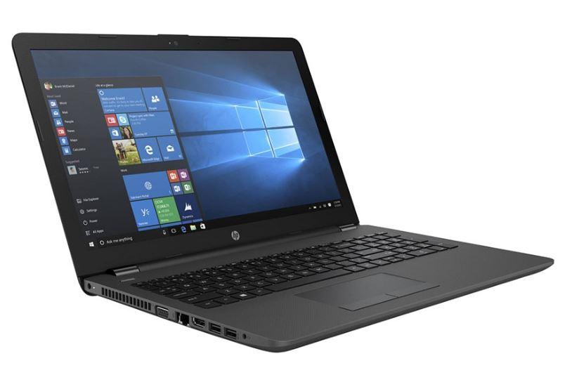"""HP 250 G6 2FG08PA Notebook 15.6"""" HD Intel Celeron N3060 4GB DDR3 500GB HDD HDMI VGA Windows 10 Home DVD-RW Webcam WL BT RJ45 1.86kg"""