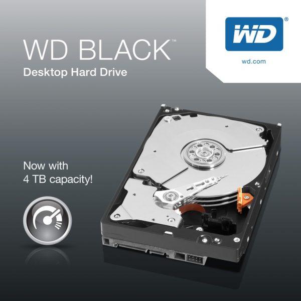 """WD Black 4TB SATA3 3.5"""" 7200RPM 6Gb/s 256MB Cache HDD (WD4005FZBX)"""