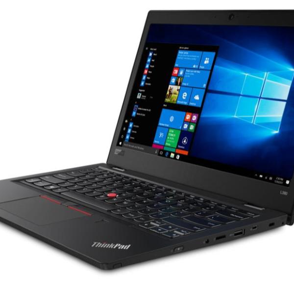 """Lenovo ThinkPad L480 Notebook 14""""HD Intel i5-8250U 8GB RAM 256GB SSD Win10 Pro USB-C Spill resistent KB 1.68kg 22.5mm"""