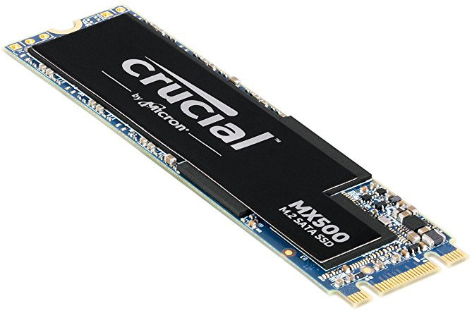 Crucial MX500 1TB M.2 (2280) SSD - 3D TLC 560/510 MB/s 90/95K IOPS Acronis True Image Cloning Software via Download
