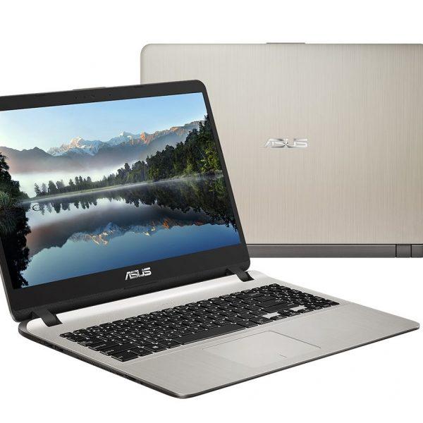 "ASUS Vivobook X507UA Notebook Ultra Slim 15.6"" HD Intel i3-6006U 4GB DDR4 1TB SATA HDD Win 10 Home 1.68kg 21.9mm Finger Print Sensor"