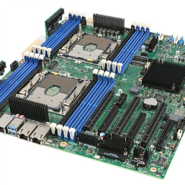 Intel S2600STB Server Motherboard, Dual LGA3467, C624 Chipset, 16 x DIMM, 2 x 10GbE, PCIe x 16, SSI EEB, to suit P4304 Chassis