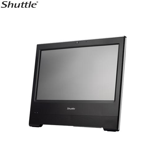 "Shuttle X50V6 XPC AIO Fanless Barebone - 15.6"" Touch, IP54, Celeron 3865U, DDR4 SODIMM, 2.5"" HDD, VGA/HDMI, 1 Giga LAN, WiFi"