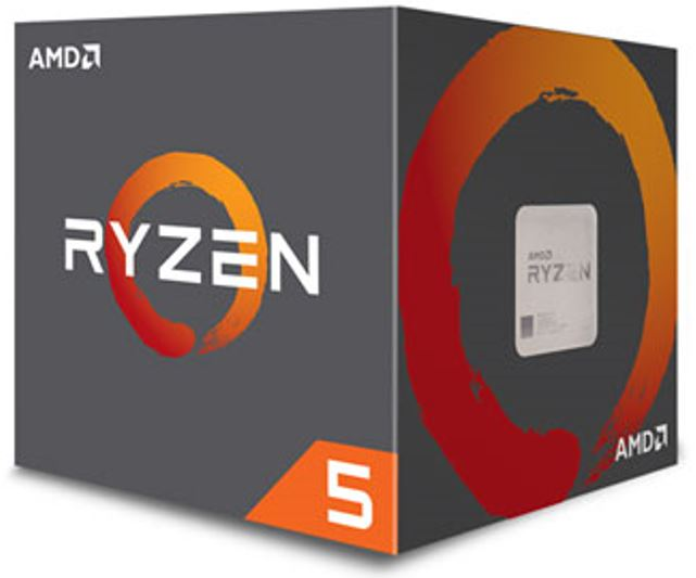 AMD Ryzen 5 2600, 6 Cores AM4 CPU, 3.9GHz 19MB 65W w/Wraith Stealth Cooler Fan Box
