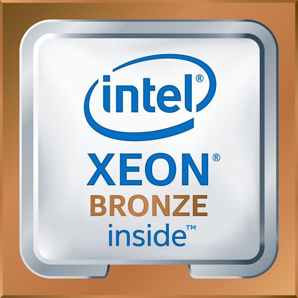 Intel® Xeon® Bronze 3106 Processor, 11M Cache, 1.70 GHz, 8 Cores, 8 Threads, 85w, LGA3647, Boxed, 3 Year Warranty