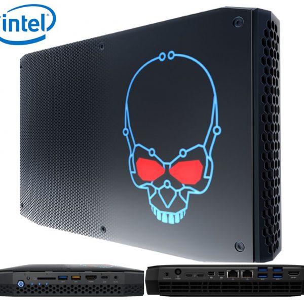 Intel BOXNUC8I7HVK4 NUC mini PC i7-8809G 4.2GHz Radeon RX Vega M GH 2xDDR4 SODIMM 2xM.2 PCIe 2xmDP 2xThunderbolt 6xDisplays 2xGbE LAN WiFi BT 13xUSB