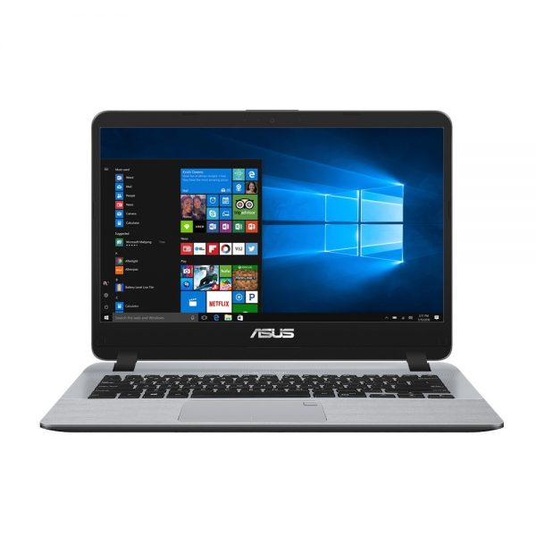"ASUS Vivobook X407UA Slim Notebook 14"" HD Intel I5-7200U 8GB DDR4 256GB SSD Intel UHD Graphics 620 Win 10 Pro 1.5kg Chiclet Keyboard"