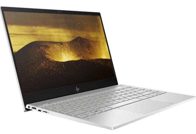 "HP Envy 4SU20PA Notebook 13.3"" FHD Touch Intel i7-8550U 8GB DDR4 256GB SSD Intel UHD Graphics 620 Win 10 Home Sliver 1.2kg 13.9mm Lifted Hinge USB-C"