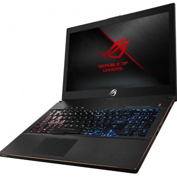 """Asus ROG GM501GS Zephyrus-M Gaming Notebook 15.6"""" 144Hz G-Sync i7-8750H 16GB DDR4 512GB SSD + 1TB HDD GTX1070 8GB Windows 10 RGB Keyboard 2.4kg 17.5mm"""