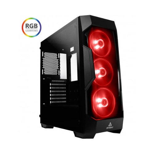 Antec DF500 RGB ATX Tempered Glass, Tinted Front Gaming Case